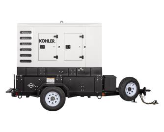 62 kW Mobile Gaseous Generators Mobile