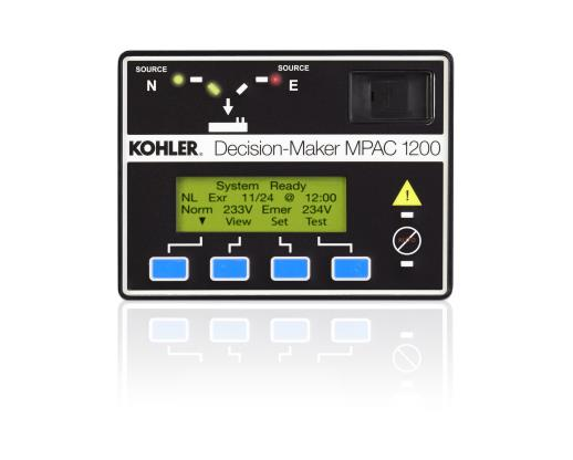 Kohler Power  Mpac 1200  Mpac 1200  Mpac 1200  Transfer Switch Controls  Industrial Generators